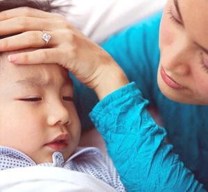 Anak terus menerus panas,batuk dan pilek