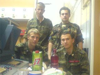 Боевой расчет 1-го подразделения