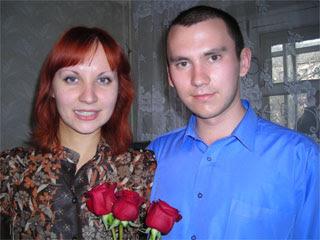 Вадим с женой Саши