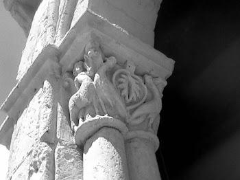 Capitel románico rural en Cuenca