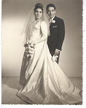 Mis padres, el día de su boda...