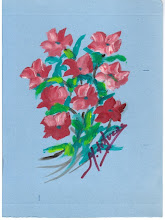 """Ramo de flores"", por Milagros de Lucas Linacero"
