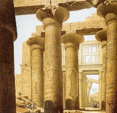 Notas de cultura arquitectura en egipto for Arquitectura de egipto