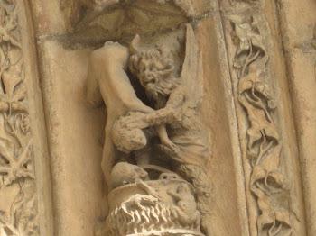 Demonio (Catedral de León)