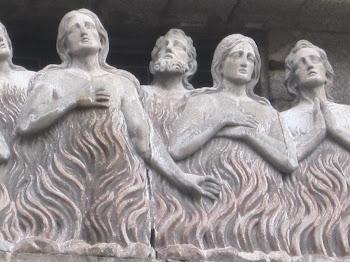 Ánimas benditas en Santiago de Compostela