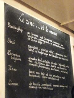 Amsterdam: Le Zinc Restaurant