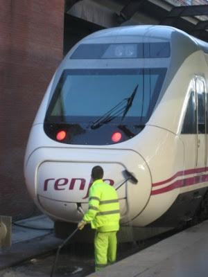 Spanish Wedding and Trains