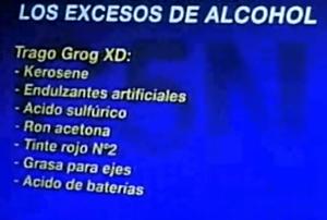 nombres y efectos de las drogas