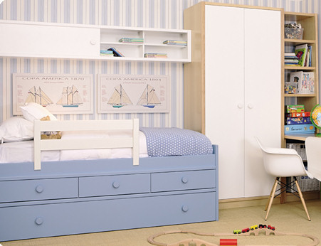 Muebles juveniles dormitorios infantiles y habitaciones juveniles en madrid mueble juvenil en - Dormitorios juveniles de madera maciza ...