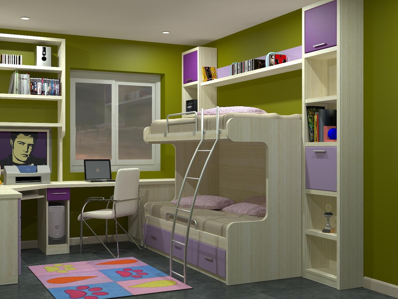 Camas dobles infantiles para espacios reducidos cama - Camas dobles infantiles para espacios reducidos ...