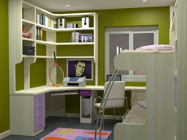 Tienda dormitorios juveniles decoraci n integral para tu - Literas nido 3 camas ...
