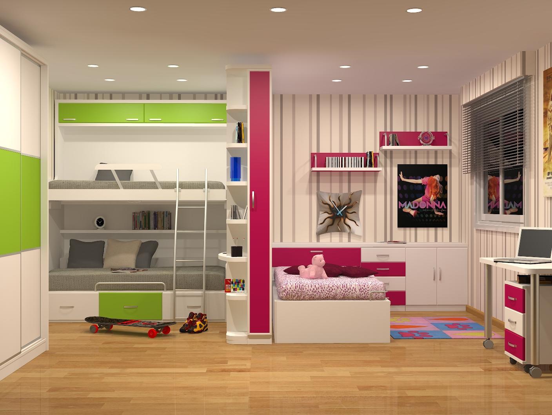 Litera Nido Abatible Mueble Litera Nido Abatible Litera  ~ Dormitorios Juveniles Para Espacios Muy Pequeños
