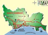 MAPA DE NUESTRA PROVINCIA SANTO DOMINGO