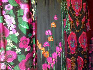 Inspirationen och blommorna spirade på vintagemässan