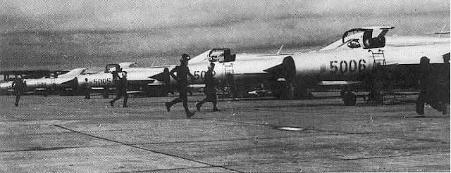 mig 21+p Kekuatan Militer Indonesia Era Soekarno (1960)