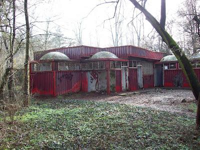 Yambol's Diana Park - A Ruined Restaurant