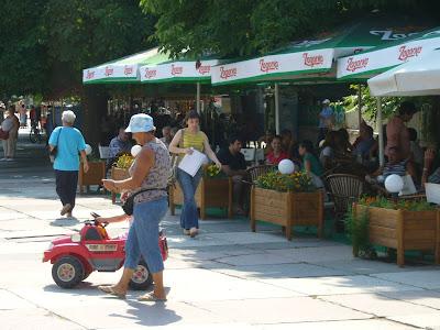 Yambol Street Cafe Scene