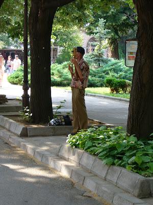 A Lonely Yambol Gadulka Musician