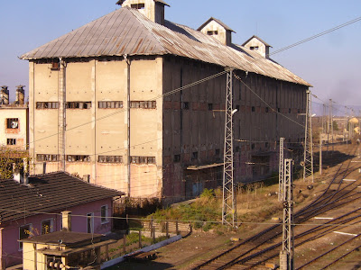 Warehouse at Yambol's Railway Junction