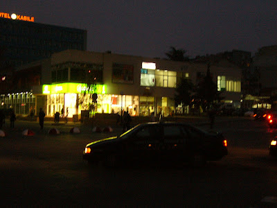Upper Bazaar Area at 5:00 in the Evening