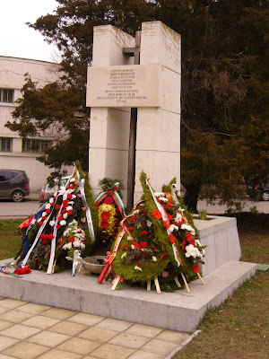 Yambol's Memorial To Bulgaria's Independence