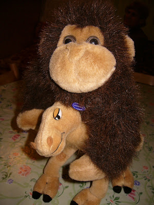 Geri Kamila's Monkey Friend
