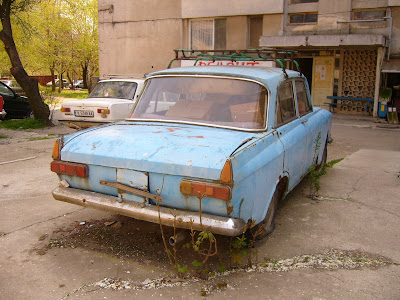 An Abandoned Car in Yambol