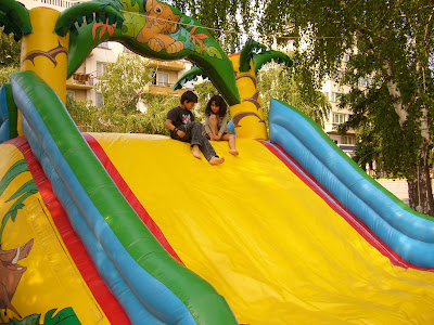 Big Blow Up Slides For Yambol Children