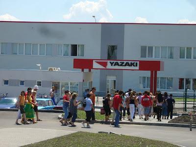 Bulgarian Workers Rolling In Yambol's Yazaki