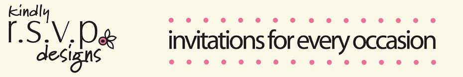 Kindly R.S.V.P. Designs' Blog