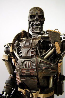 T 600 Terminator Salvation RED6: Hot Toys MMS093 Terminator Salvation T-600
