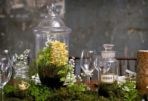 Terrarium Wedding Centerpiece Ideas