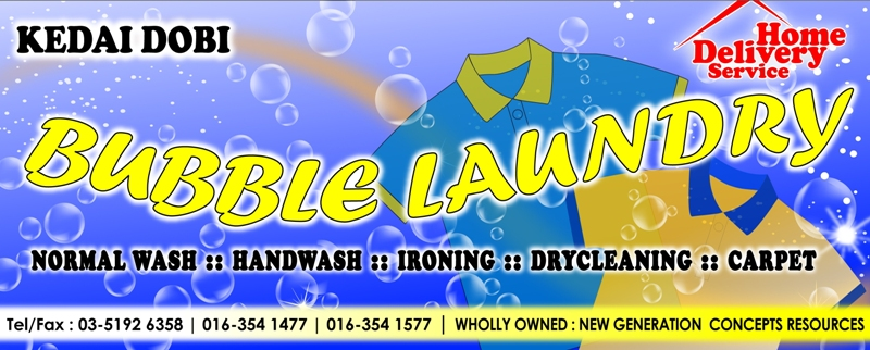 Design Of Bubble Signboard
