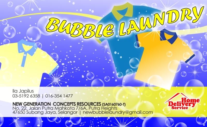 Bubble Laundry Design Of