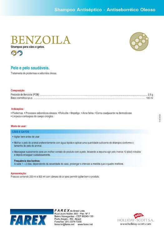 Benzoila Verso