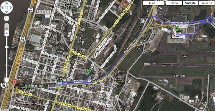 Localização da Farex do Brasil