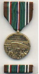 European/African/Middle East Campaign Medal