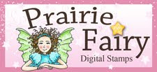 Prairie Fairy Digital Stamps!