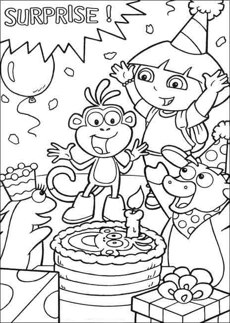 Enfant Logiciel gratuit Telechargement : Page 2 - Telecharger Coloriage Dora Gratuit