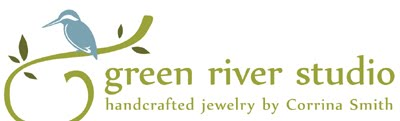 GREEN RIVER STUDIO handcrafted jewellery by Corrina Smith