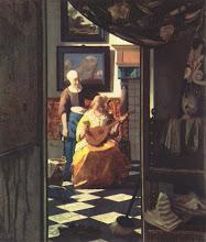 La carta de amor De Vermeer