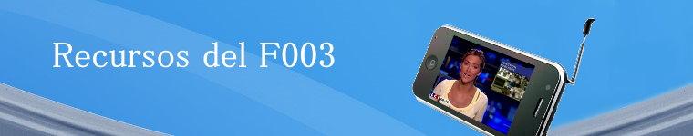 Recursos del F003