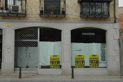 La crisis en España no perdonó a nadie, y menos a los pequeños comercios