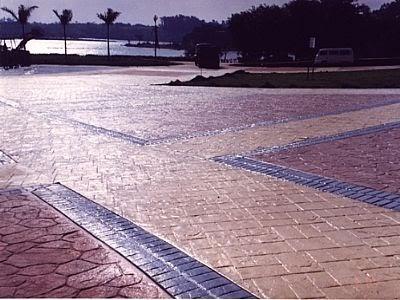 Igreja do evangelho quadrangular brasil a igreja 100 for Cemento estampado fotos