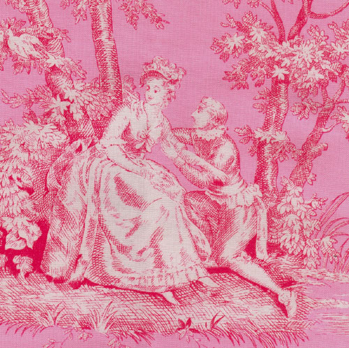 Interior design style on pinterest damask wallpaper pink damask and damasks - Toile de jouy papier peint ...