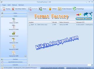 FormatFactory, klik3x.blogspot.com