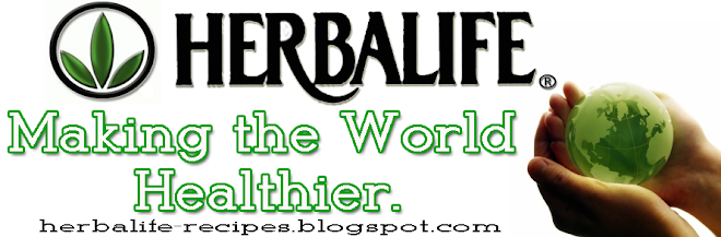 Herbalife makes the world healthier....