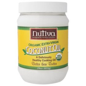 Extra virgin pure coconut oil