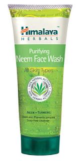 Himalaya Herbals' Purifying neem face wash 72g