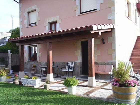 Madertac estructuras de madera porches y p rgolas de madera - Pergolas y porches de madera ...
